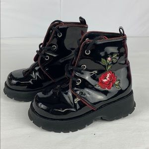 Gymboree toddler lace-up boots